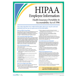 ComplyRight™ HIPAA Employee Poster