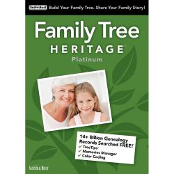 Family Tree Heritage Platinum 15, For Mac®