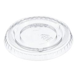 Dart Plastic Cold Cup Lids, 5 Oz, Clear, Carton Of 2,500 Lids