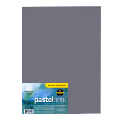 """Ampersand Pastelbord, 12"""" x 16"""", Gray, Pack Of 2"""
