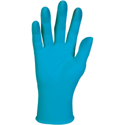 KleenGuard G10 Nitrile Gloves - Oil, Splash, Chemical, Dirt, Grease Protection - 7 Size Number - Small Size - For Right/Left Hand - Nitrile - Blue - 1000 / Carton