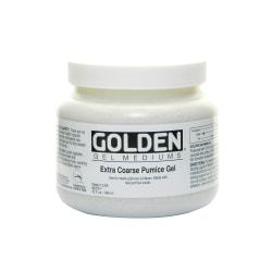Golden Extra-Coarse Pumice Gel, 32 Oz