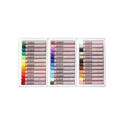 "Sakura Cray-Pas Expressionist Oil Pastels, 2 3/4"" x 7/16"", Assorted, Set Of 36"