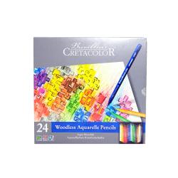 Cretacolor Aqua Monolith Pencils, Set Of 24 Pencils