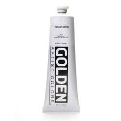Golden Heavy Body Acrylic Paint, 5 Oz, Titanium White