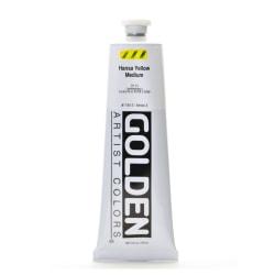 Golden Heavy Body Acrylic Paint, 5 Oz, Hansa Yellow Medium