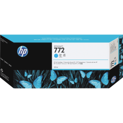 HP DesignJet 772 Cyan Ink Cartridge (CN636A)