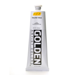 Golden Heavy Body Acrylic Paint, 5 Oz, Diarylide Yellow
