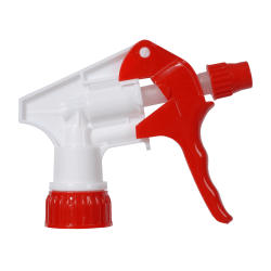 "Continental Multi-Purpose Pro Spray Bottle Trigger, 8 1/4"" Dip Tube, Red/White"