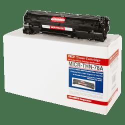 MicroMICR MICRTHN78A (HP 78A) Black MICR Toner Cartridge