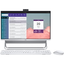 """Dell™ Inspiron 5400 All-In-One PC, 23.8"""" Touch Screen, Intel® Core™ i7, 16GB Memory, 256GB Solid State Drive/1TB Hard Drive, Wi-Fi 6, Windows® 10, I5400-7910SLV-PUS"""