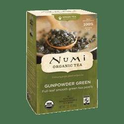 Numi® Organic Gunpowder Green Tea, Box Of 18