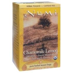 Numi® Organic Chamomile Lemon Herbal Tea, Box Of 18