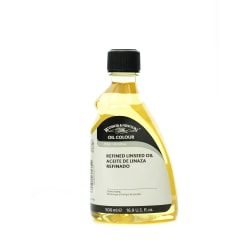 Winsor & Newton Linseed Oil, Refined, 500mL