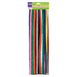 """Creativity Street Colossal Stems - Craft Project, School, Decoration - 19.50"""" x 0.6"""" - 50 / Pack - Assorted"""