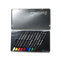 Cretacolor AquaStic Oil Pastels, Assorted, Set Of 10
