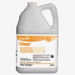 Diversey™ Stride® Neutral Cleaner, Citrus Scent, 128 Oz, Pack Of 4 Bottles