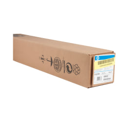 "HP Large-Format Film Roll, 24"" x 150', 4.3 mil, White"