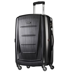 "Samsonite® Winfield 2 Polycarbonate Rolling Spinner, 28""H x 19""W x 12""D, Brushed Anthracite"