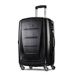 """Samsonite® Winfield 2 Polycarbonate Rolling Spinner, 24""""H x 16 1/2""""W x 11""""D, Brushed Anthracite"""