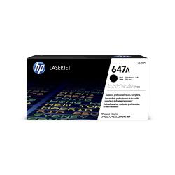 HP 647A, Black Original Toner Cartridge (CE260A)
