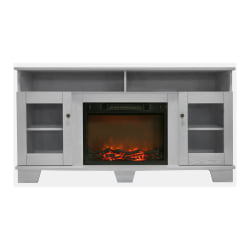 Cambridge Savona Fireplace Mantel with Electronic Fireplace Insert - Indoor - Freestanding