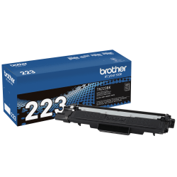 Brother Genuine TN-223BK Black Toner Cartridge