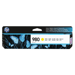 HP 980 (D8J09A) Yellow Ink Cartridge