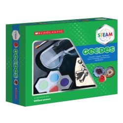 Scholastic STEAM Geodes Activity Kit, Grades 2 To 5