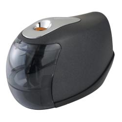 Office Depot® Brand Cordless Pencil Sharpener, Mill, Black