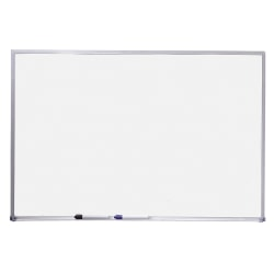 "Quartet® Standard Dry-Erase Board, 36"" x 48"", Silver Aluminum Frame"