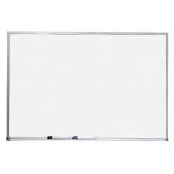 "Quartet® Standard Non-Magnetic Melamine Dry-Erase Whiteboard, 36"" x 48"", Aluminum Frame With Silver Finish"