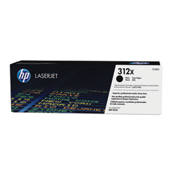 HP 312X High-Yield Black Toner Cartridge (CF380X)