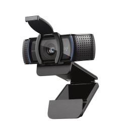 Logitech® C920S Pro HD 15.0-Megapixel Webcam, 960-001257