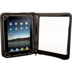 """Urban Factory Carrying Case (Folio) for 10"""" to 10.1"""" Tablet - Black - 9.1"""" Height x 10.8"""" Width x 1.2"""" Depth"""