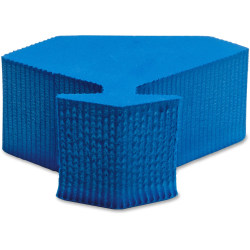 Lorell Door Wedge - Foam - Blue