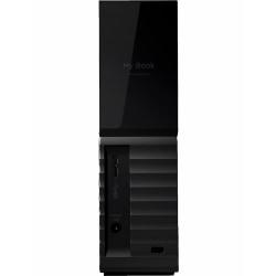 WD My Book WDBBGB0120HBK - Hard drive - encrypted - 12 TB - external (desktop) - USB 3.0 - 256-bit AES - black