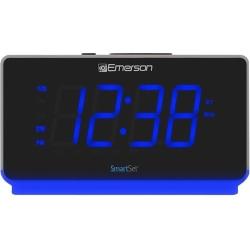 Emerson SmartSet ER100112 Clock Radio - 2 x Alarm - USB