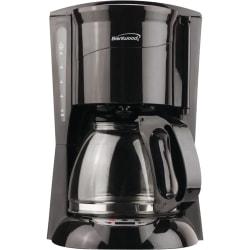 Brentwood TS-218B Coffeemaker - 12 Cup(s) - Multi-serve - Black
