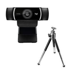Logitech® C922 Pro Stream 2.0-Megapixel USB Webcam, 960-001087