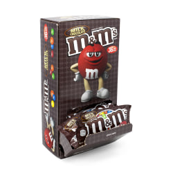 M&M's® Milk Chocolate Candies, 1.69 Oz, Pack Of 36 Bags