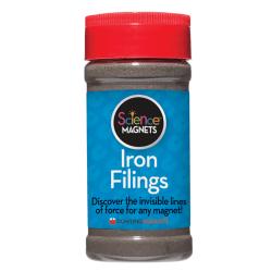 Dowling Magnets Iron Filings, 12 Oz, Grades 3-6