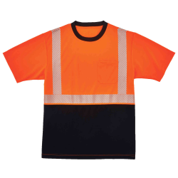 Ergodyne GloWear 8280BK Type R Class 2 Performance T-Shirt, XX-Large, Orange