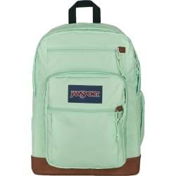 "JanSport Cool Student Backpack with 15"" Laptop Pocket, Mint Chip"