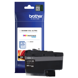 Brother INKvestment Tank LC3035BK Extra-High Yield Black Ink Cartridge