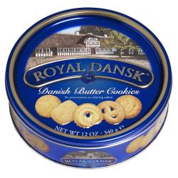 Royal Dansk Danish Butter Cookies, 12 Oz Tin