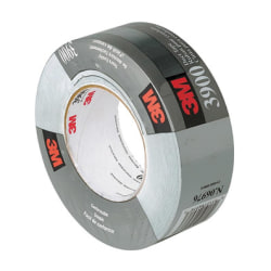 "3M™ Utility-Grade Multipurpose Duct Tape, 1-7/8"" x 60 Yd., Silver"