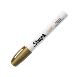 Sharpie® Paint Marker, Bullet Point, Gold
