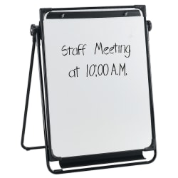"Flipchart Easel With Dry-Erase Board, 29"" x 38"" (AbilityOne 7520-01-424-4867)"