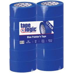 "Tape Logic® 3000 Painter's Tape, 3"" Core, 2"" x 180', Blue, Case Of 12"